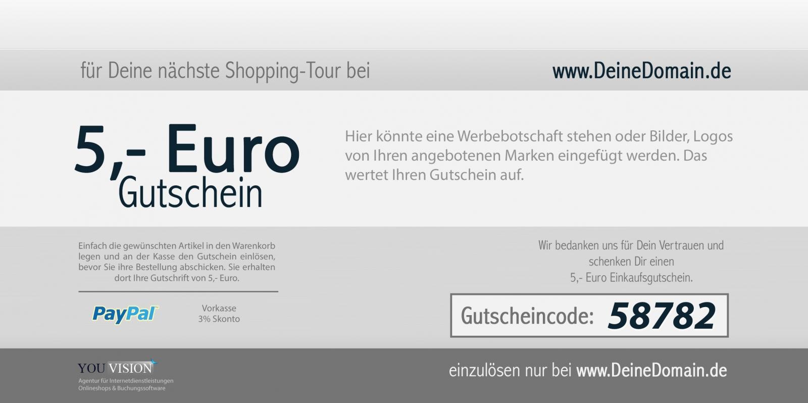 Schön Online Geschenkgutschein Schablone Galerie - Bilder für das ...